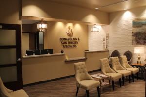 Dermatology & Skin Surgery Specialists, Scottsdale Arizona, Waiting Room